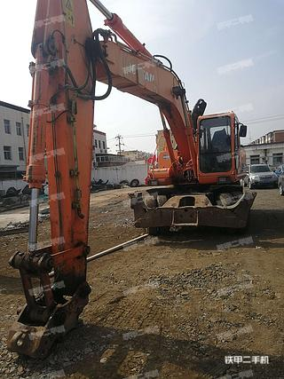 北京斗山DH210W-7挖掘機實拍圖片
