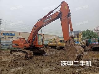 佛山斗山DH220LC-V挖掘機實拍圖片