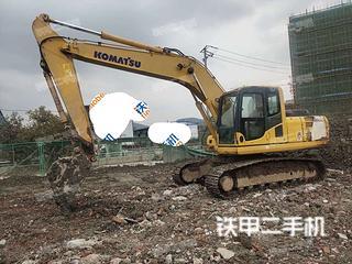 浙江-温州市二手小松PC200-8挖掘机实拍照片