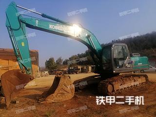云南-曲靖市二手神钢SK250LC挖掘机实拍照片