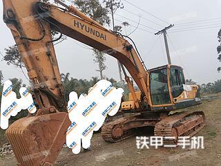 四川-内江市二手现代R265LC-9挖掘机实拍照片