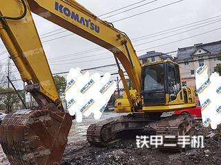 浙江-杭州市二手小松PC240LC-8M0挖掘机实拍照片