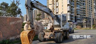 日立EX100WD挖掘機實拍圖片