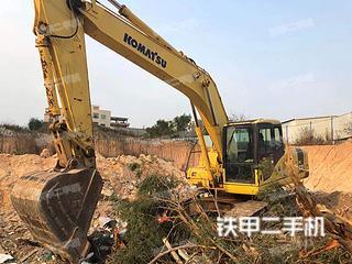 小松PC220-7挖掘機實拍圖片