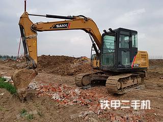 駐馬店三一重工SY75C挖掘機實拍圖片