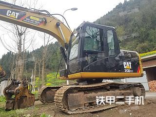 卡特彼勒313D2GC小型液壓挖掘機實拍圖片