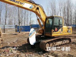 河南-焦作市二手小松PC220-8挖掘机实拍照片
