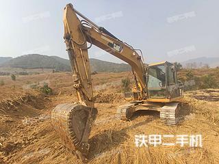 云南-保山市二手卡特彼勒313D2小型液压挖掘机实拍照片