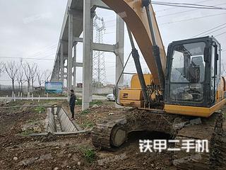柳工CLG920E挖掘機實拍圖片