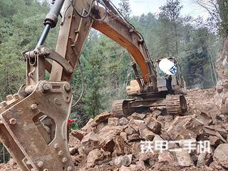 巴中三一重工SY385C挖掘機實拍圖片