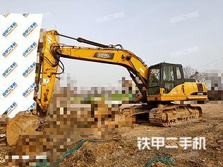 河南-郑州市二手雷沃重工FR220挖掘机实拍照片