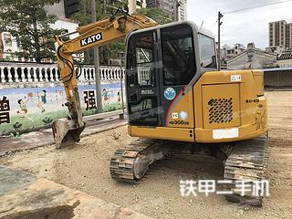 佛山加藤HD308US挖掘機實拍圖片