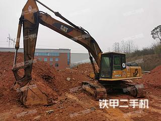卡特彼勒E200B挖掘機實拍圖片