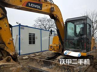 陕西-西安市二手雷沃重工FR80E挖掘机实拍照片