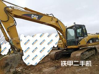 貴陽卡特彼勒320D液壓挖掘機實拍圖片