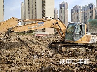 江苏-常州市二手柳工CLG205挖掘机实拍照片