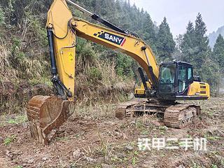 巴中三一重工SY245H挖掘機實拍圖片