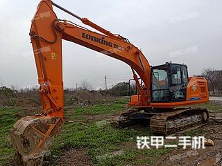 江苏-常州市二手龙工LG6225F挖掘机实拍照片