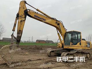 江苏-扬州市二手小松PC220-8挖掘机实拍照片