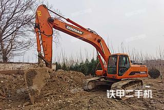 北京斗山DH300LC-7挖掘機實拍圖片