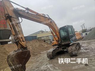上海-上海市二手现代R215-7C挖掘机实拍照片
