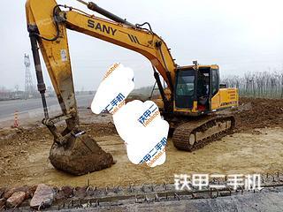 駐馬店三一重工SY215C挖掘機實拍圖片