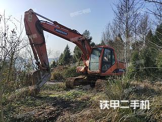 巴中斗山DH150LC-7挖掘機實拍圖片