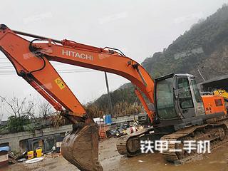 浙江-绍兴市二手日立ZX200-3G挖掘机实拍照片