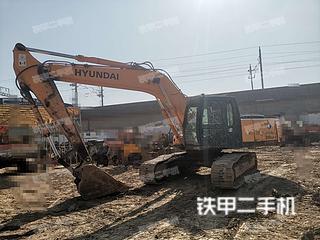 浙江-台州市二手现代R265LC-7挖掘机实拍照片