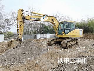 小松PC160LC-7挖掘機實拍圖片