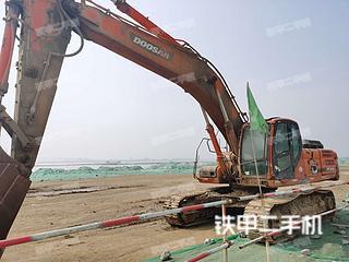 斗山DX345LC挖掘機實拍圖片