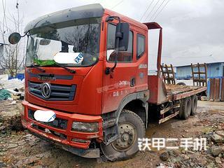 鞍山东风6X4平板运输车实拍图片