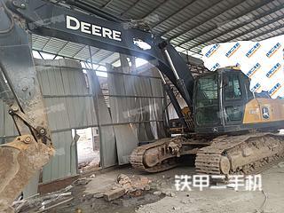 陕西-西安市二手约翰迪尔E260LC挖掘机实拍照片