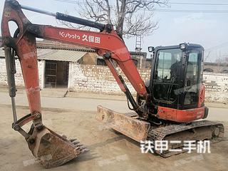 久保田KX163-5挖掘機實拍圖片