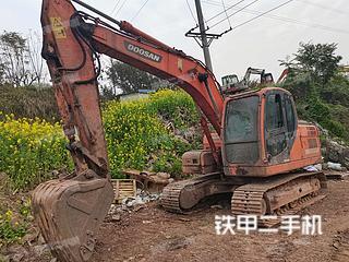 斗山DX150LC挖掘機實拍圖片