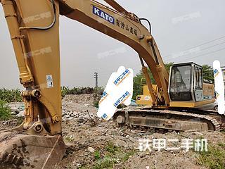 加藤HD1250挖掘機實拍圖片