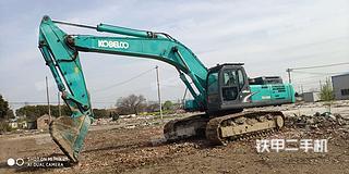 神鋼SK460-8挖掘機實拍圖片
