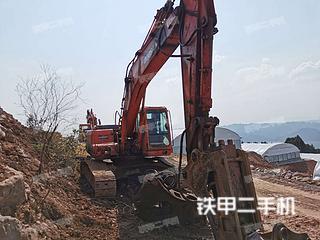 重庆-重庆市二手斗山DH258LC-7挖掘机实拍照片