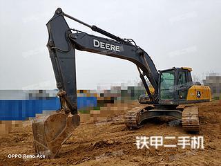 河南-郑州市二手约翰迪尔E240LC挖掘机实拍照片