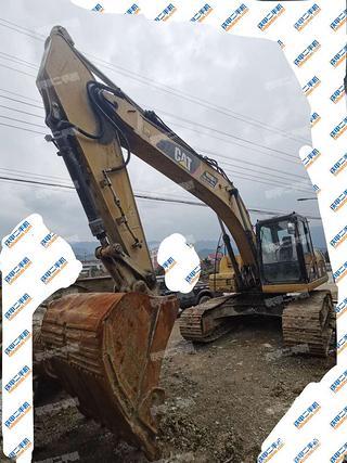 陕西-汉中市二手卡特彼勒323DL挖掘机实拍照片