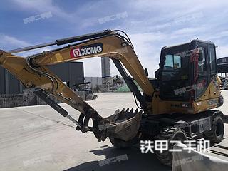 徐工XE60WA挖掘機實拍圖片