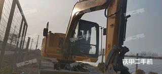 柳工CLG9075E挖掘機實拍圖片
