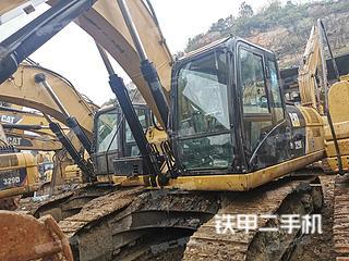 貴陽卡特彼勒329D挖掘機實拍圖片