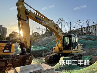 浙江-杭州市二手小松PC200-8挖掘机实拍照片