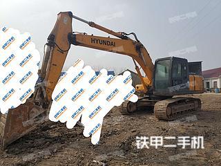 江苏-连云港市二手现代R215-7C挖掘机实拍照片