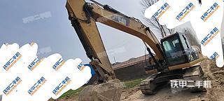 山东-德州市二手卡特彼勒320D2-GC液压挖掘机实拍照片