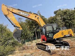 浙江-杭州市二手三一重工SY205C挖掘机实拍照片