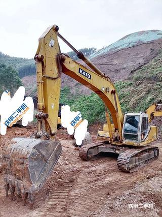 加藤HD1430III挖掘機實拍圖片