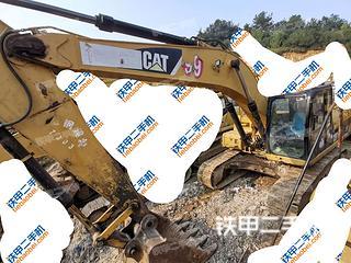 貴陽卡特彼勒325D挖掘機實拍圖片