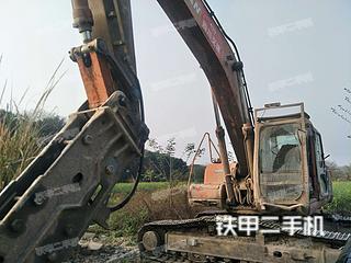 四川-成都市二手斗山DH258-7挖掘机实拍照片